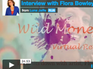 A sit down with artist Flora Bowley
